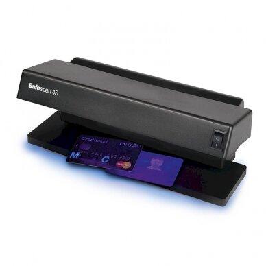 Pinigų tikrinimo aparatas UV SAFESCAN 45 2