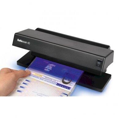 Pinigų tikrinimo aparatas UV SAFESCAN 45 3