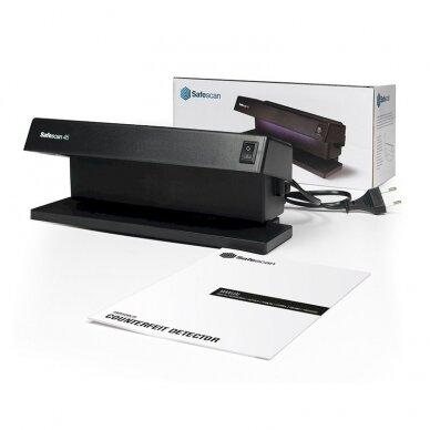 Pinigų tikrinimo aparatas UV SAFESCAN 45 4