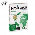 Popierius NAVIGATOR UNIVERSAL, A5, 80 g/m2, 500  lapų