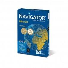Popierius NAVIGATOR OFFICE CARD, 160 g/m2, 250  lapų