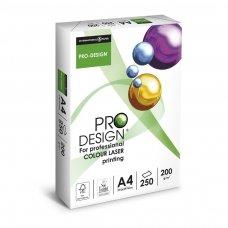 Popierius PRO DESIGN A4, 200 g/m2, 250  lapų