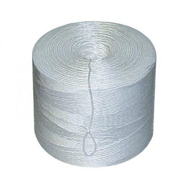 Polipropileninis špagatas 1400 m., 2 kg.