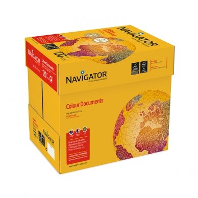 Popierius NAVIGATOR A5, 120 g/m2, 250 lapų 2