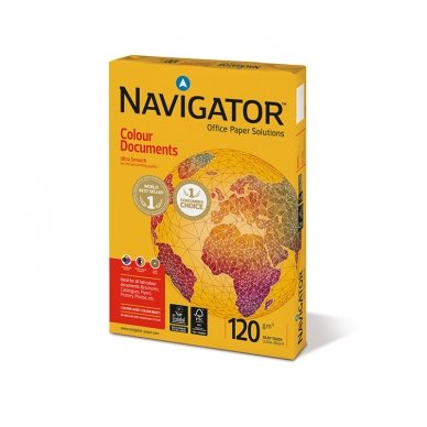 Popierius NAVIGATOR A5, 120 g/m2, 250 lapų