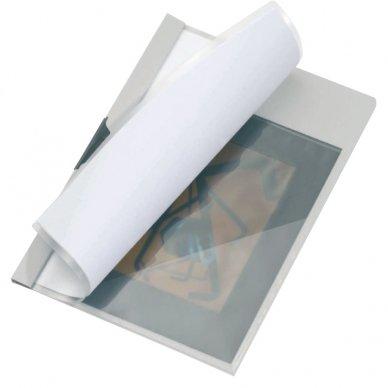 Priklijuojamoji trikampė kišenė dokumentams DURABLE CORNERFIX, 175 x 175 mm, (pak. - 8 vnt.) 3