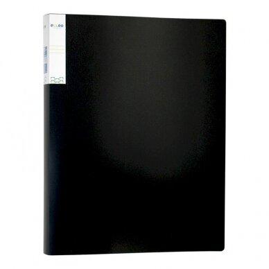 Pristatymo segtuvas ELLER, tvirto PP, A4, 40 lapų