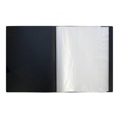 Pristatymo segtuvas ELLER, tvirto PP, A4, 60 lapų 2