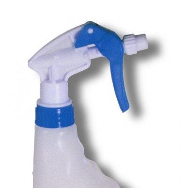 Purkštuvo pompa be butelio, mėlynos spalvos