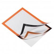 Rėmelis dokumentams DURABLE DURAFRAME®, A4,  (pak. -2 vnt.), oranžinis