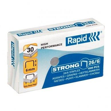 Sąsagėlės Rapid Strong 26/6, (dėž. 1000vnt.)