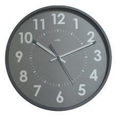 Sieninis laikrodis CEP ORIUM, skersmuo 30 cm, pilka sp.