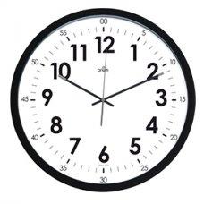 Sieninis laikrodis CEP ORIUM, skersmuo 40 cm, juodos sp.
