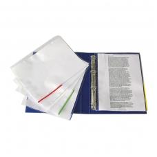 Signalinė įmautė dokumentams ESSELTE, A4, 105 mikr., (pak. -100 vnt.), įvairių spalvų