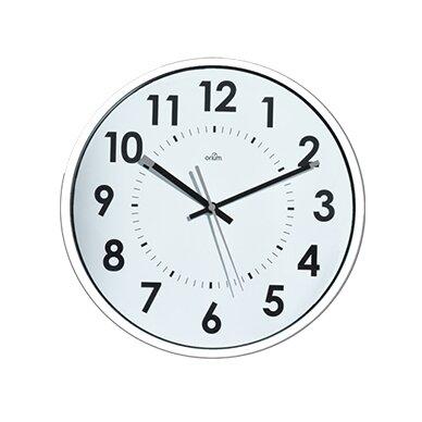 Sieninis laikrodis CEP ORIUM, skersmuo 30 cm, balta sp.