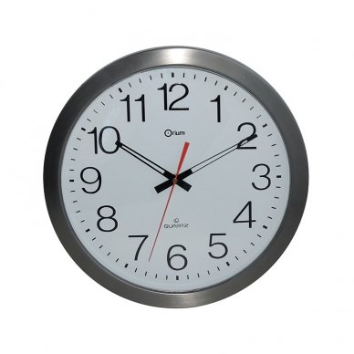 Sieninis laikrodis CEP, skersmuo 35cm, atsparus vandeniui