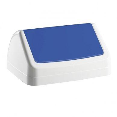 Šiukšlių dėžės dangtis PATTY, balta sp.