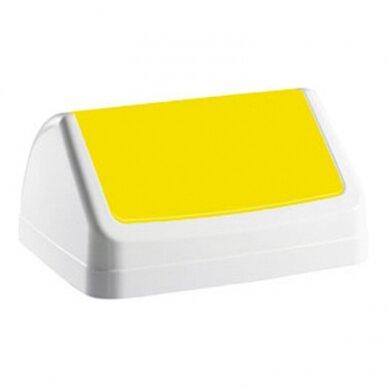Šiukšlių dėžės dangtis PATTY, geltona sp.