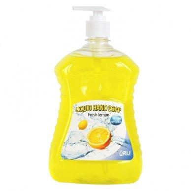 Skystas muilas ARLI CLEAN Fresh lemon, 1 l
