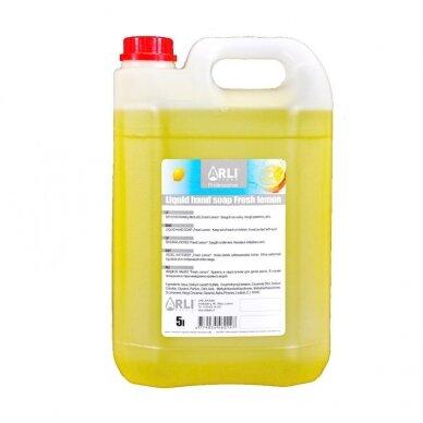 Skystas muilas ARLI CLEAN Fresh lemon, 5 l