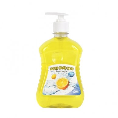Skystas muilas ARLI CLEAN Fresh lemon, 500 ml