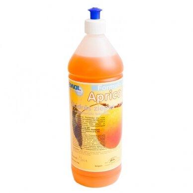 Skystas muilas EWOL, abrikosų kvapo, 1 l