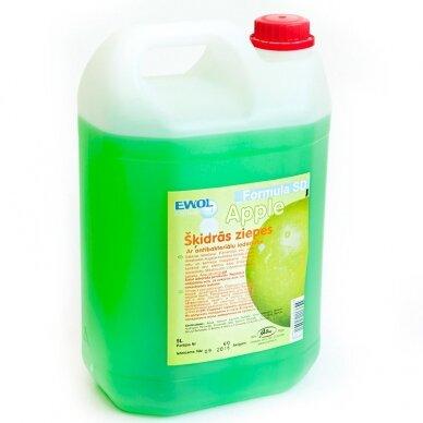 Skystas muilas EWOL, obuolių kvapo, 5 l