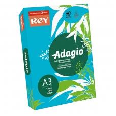 Spalvotas popierius REY ADAGIO, A3, 80 g/m2, 500 lapų, įvairių spalvų