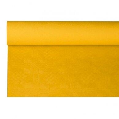 Staltiesė PAP STAR, popierinė, 8 x 1,2 m, geltona sp.