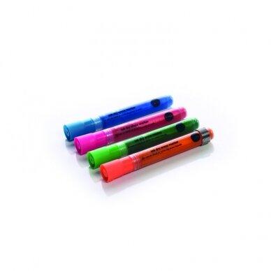Stiklinės lentos žymekliai BI-OFFICE, 4 spalvų