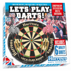 Taikinys HARROWS LET'S PLAY DARTS GAME SET