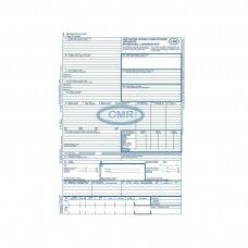 Tarptautinis krovinių vežimo važtaraštis CMR 4 l.