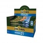 Tirpiosios kavos gėrimas JACOBS 2 in 1, dėžutė, 20 x 14 g