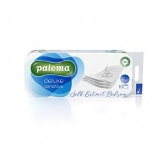 Tualetinis popierius PALOMA Deluxe Care, 4 sl., 10 vnt./pak.