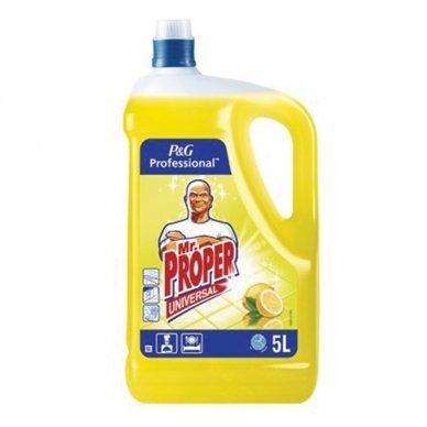Universalus grindų valiklis. MR Proper Lemon, 5 L
