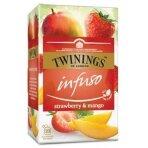 Vaisinė arbata TWININGS Strawberry&Mango, 20x2g