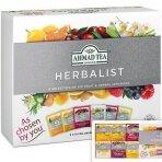 Vaisinės ir žolelių arbatos rinkinys AHMAD HERBALIST, 60 arbatos pakelių folijos vokeliuose