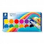 Vandeniniai dažai STAEDTLER NORIS CLUB 888, 12 spalvų.