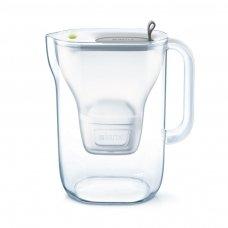 Vandens filtras BRITA Style XL 3.6L pilkas su vandens filtravimo kasete MAXTRA 1 vnt.