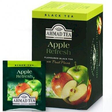 Vaisinė arbata AHMAD ALU APPLE, 20 vokelių su siūlu po 2 g