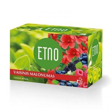 Vaisinė arbata ETNO VAISINIS MALONUMAS, 22 x 1,5 g