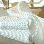 Virtuvinis vaflinis rankšluostis, baltas, 75 x 45 cm, 230 gsm, 1 vnt.
