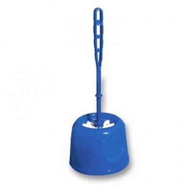 WC valymo šepetys YORK MIDI, įvairių spalvų