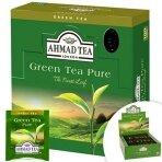Žalioji arbata Ahmad Alu Green Pure folijos vokeliuose (100 vnt)