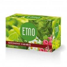 Žolelių arbata ETNO AKSOMINIS VAKARAS, 22 x 1,5 g