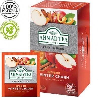 Žolelių arbata AHMAD ALU WINTER CHARM, 20 vokelių su siūlu po 2g
